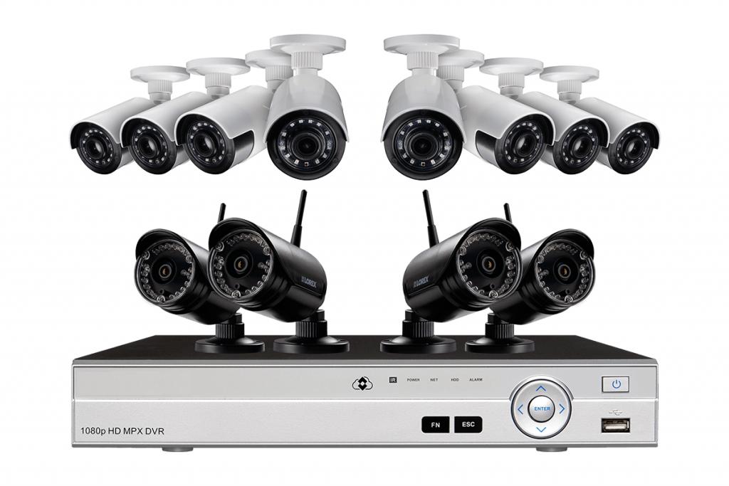 bezpečnostné kamerové systémy
